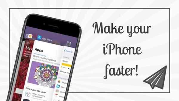 accelerer votre iphone