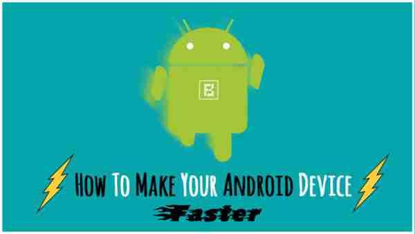Accélérer le téléphone Android
