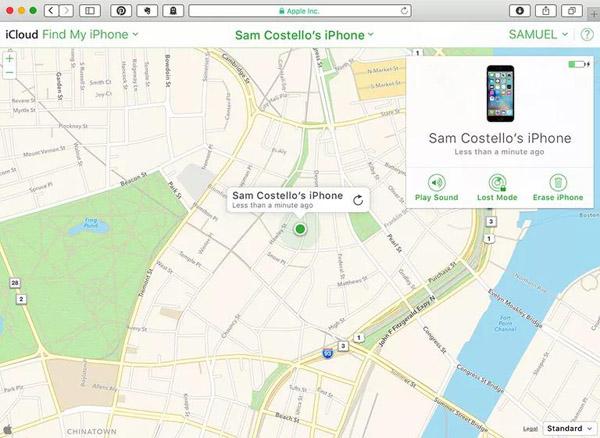 Localiser un téléphone perdu ou volé