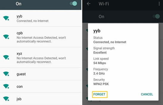 forget wifi