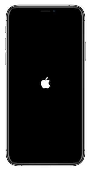 Mise à jour iOS 14 bloquée sur le logo Apple