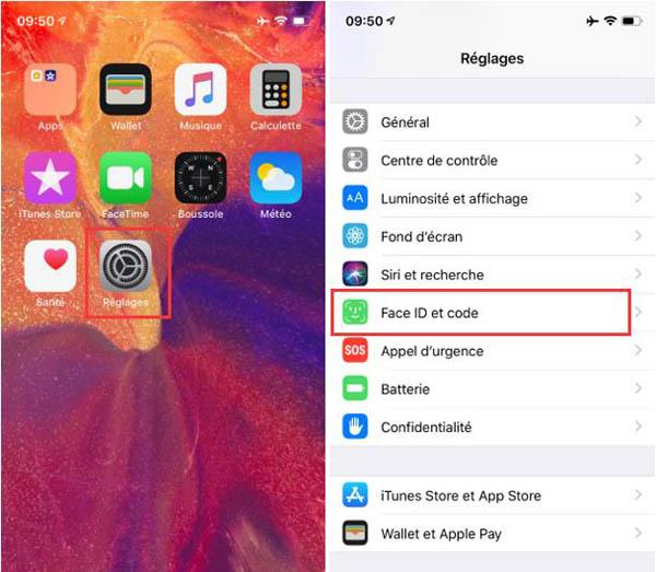 Enregistrer plusieurs Face ID sur iOS 12