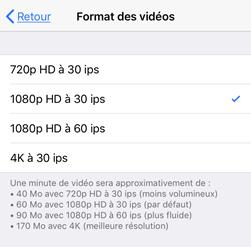 Réduire la taille d'une vidéo sur iPhone/iPad