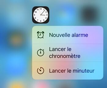 3D Touch sur votre iPhone