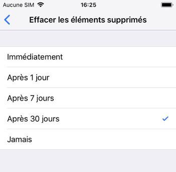 Supprimer automatiquement les mémos vocaux sur iOS 12