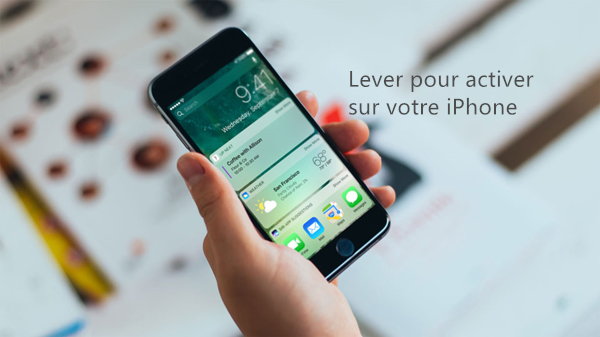 iphone lever pour activer