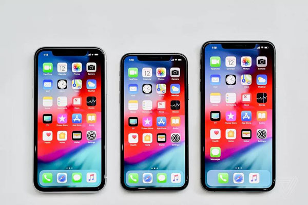 iPhone XS iPhone XR iPhone XS Max