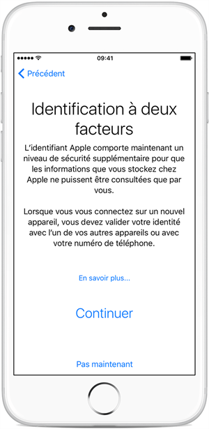 iphone6 ios9 two factor authentication