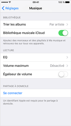 itunes match ios9