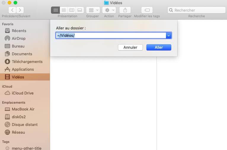 Supprimer les anciennes bibliothèques après la mise à jour vers iMovie 10.0 sur Mac