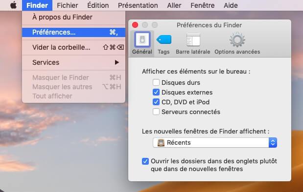 Limiter la mémoire utilisée par le Finder