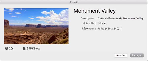 Compresser un fichier MOV sur Mac