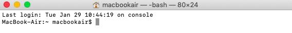 Utiliser une ligne de commande pour cacher des fichiers