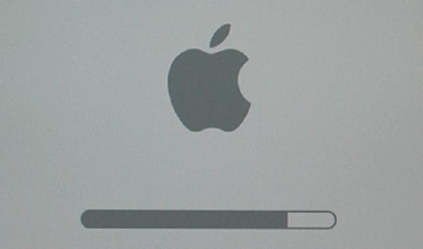 Réparer le MacBook bloqué sur l'écran de chargement