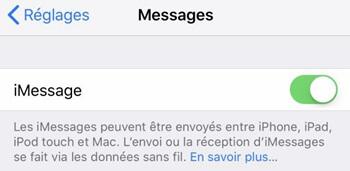 synchroniser iMessage sur Mac