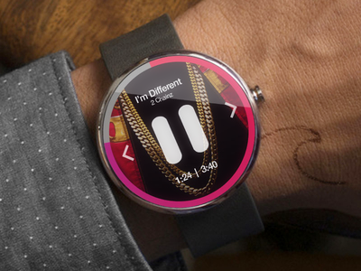 musique android wear