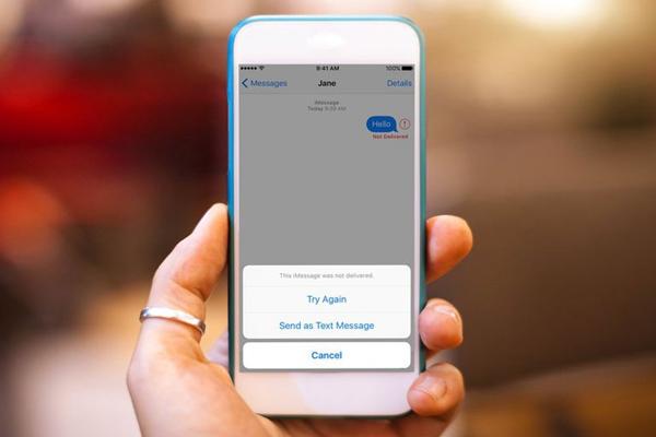 envoyer de messages iPhone