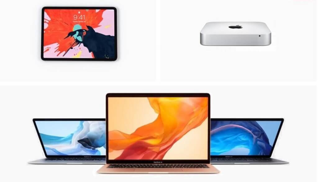 Nouvel iPad Pro, MacBook Air et Mac mini d'Apple