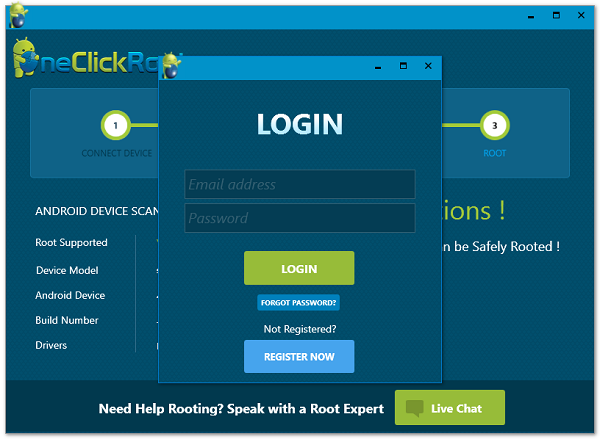 one click root - root android
