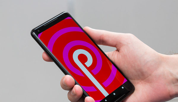 Google Pixel sous Android 9 Pie