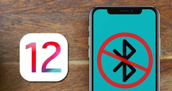 Résoudre le problème de Bluetooth sur iPhone