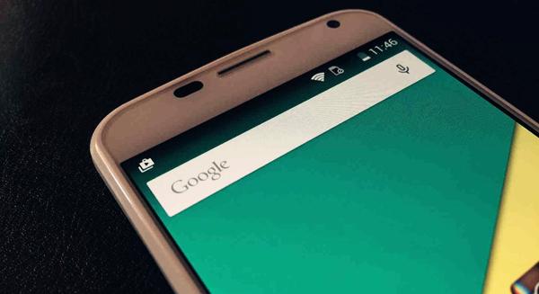 retirer barre recherche google android