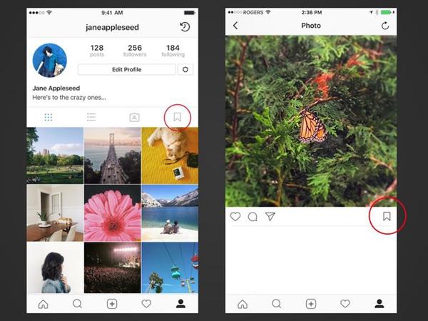 sauvegarder des photos d'autres sur instagrame