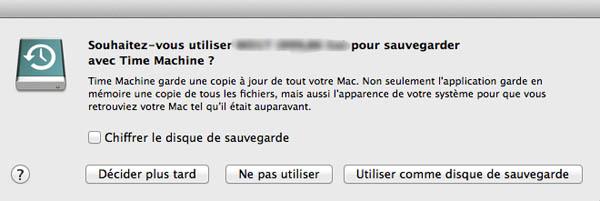 Sauvegarder votre Mac avec Time Machine