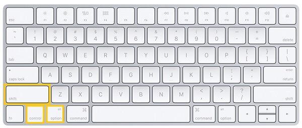 Réinitialisation du SMC de votre Mac