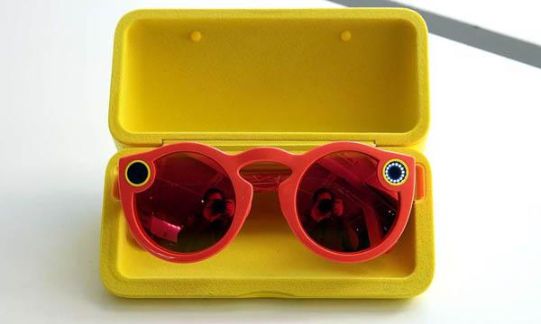 Utiliser Spectacles sur Snapchat