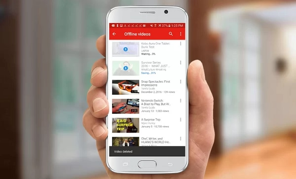 telecharger youtube android telephone