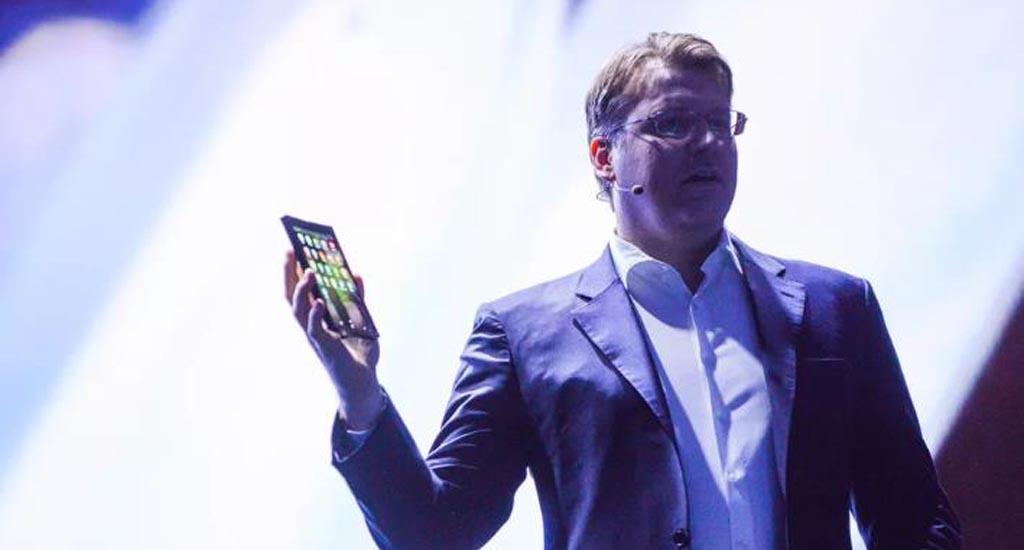 Le téléphone pliable de Samsung