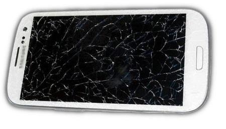 écran cassé - samsung écran ne répond plus