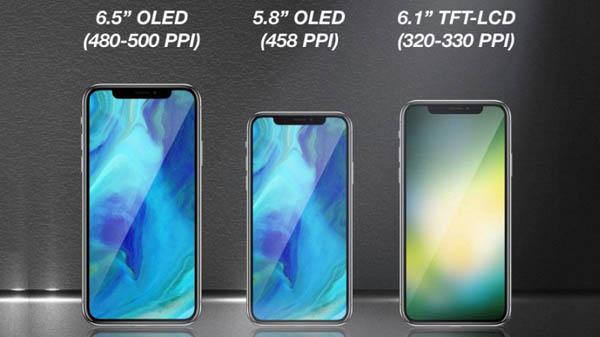 Trois nouveaux iPhones