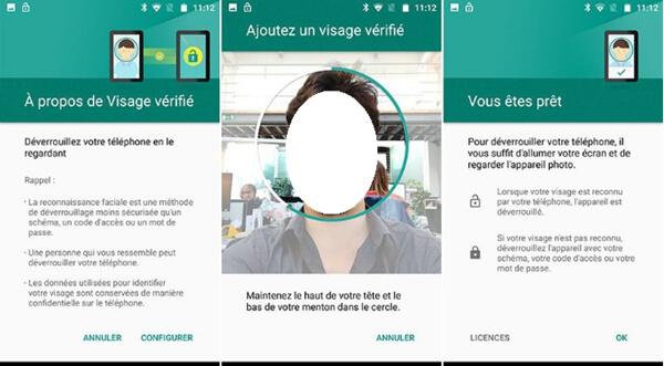 Utilisation de la reconnaissance faciale pour déverrouiller votre Samsung