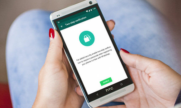 whatsapp deux etapes verification