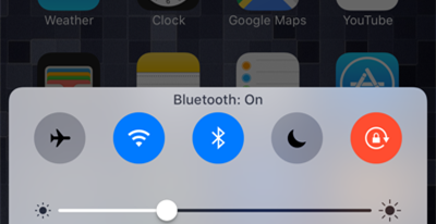 wifi bluetooth ios10