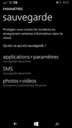 sauvegarder les données de votre téléphone dans le Cloud