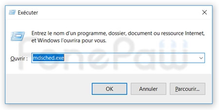 Tester la mémoire de Windows