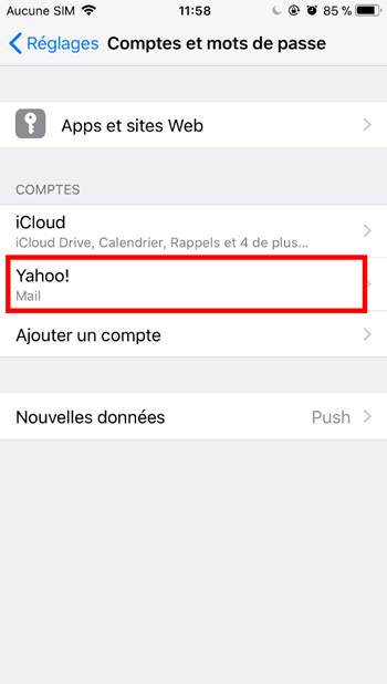 Yahoo iPhone/iPad