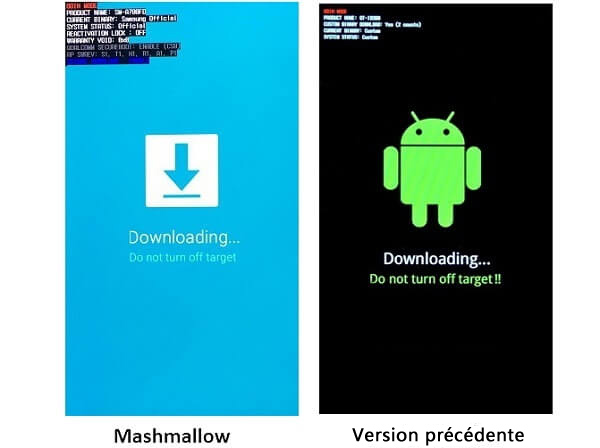 Android Mashmallow e